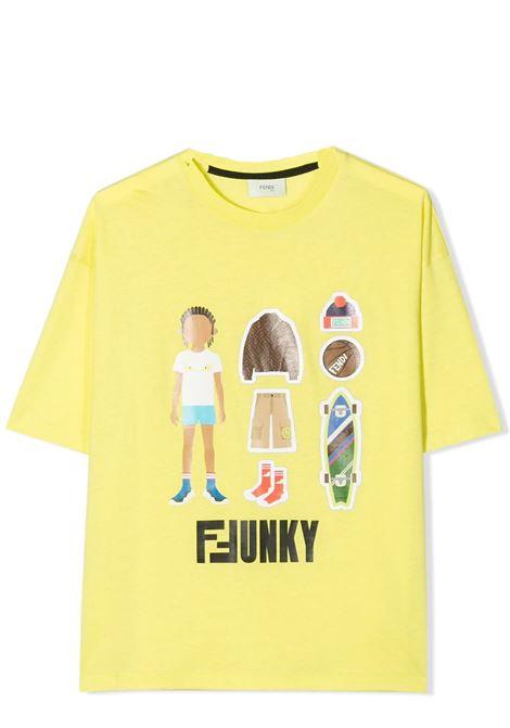 FENDI KIDS  FENDI KIDS   T-shirt   JMI318 7AJTF19J2