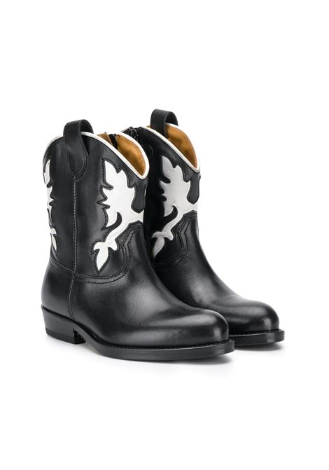 GALLUCCI KIDS WESTERN BOOTS  GALLUCCI KIDS | Little boots | J30080AMAGZB38
