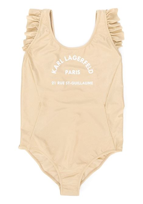 ADDRESS PRINT SWIMSUIT KARL LAGERFELD KIDS | Swimsuits | Z10071T56C