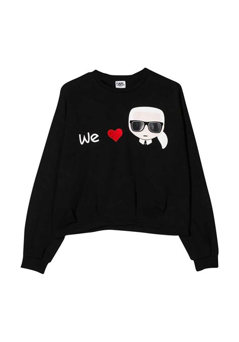 KARL LAGERFELD KIDS SWEATSHIRT  KARL LAGERFELD KIDS | Sweatshirts | Z15235T09B