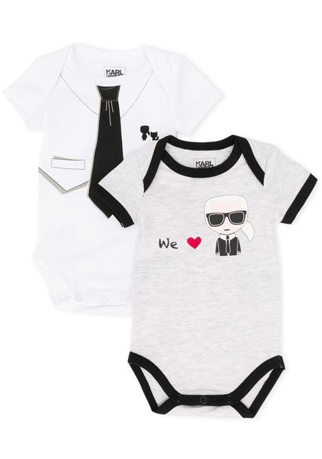 PRINT SET OF TWO BABYGROW KARL LAGERFELD KIDS | Body | Z98054M01