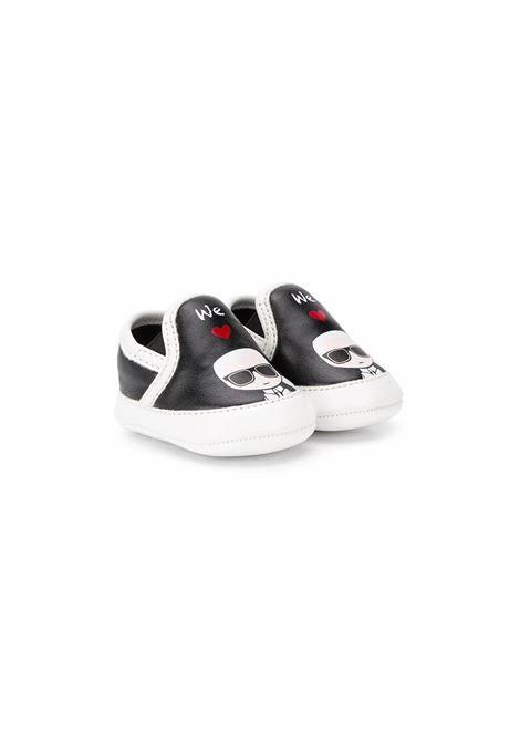SLIP-ON PRE WALKERS KARL LAGERFELD KIDS | Shoes | Z99005M41