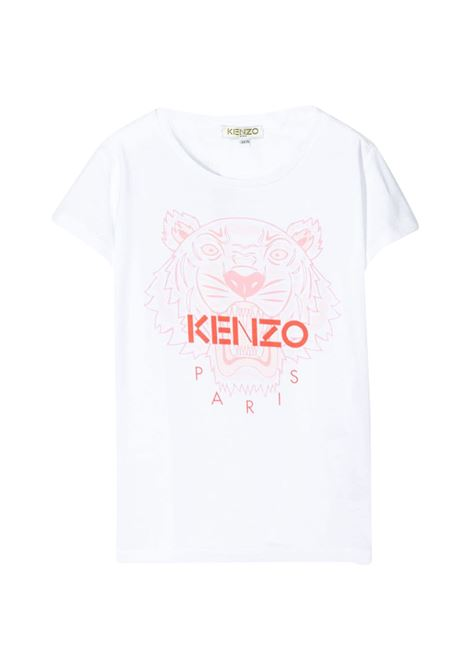 KENZO KIDS T-SHIRT WITH PRINT KENZO KIDS | T-shirt | KQ10258T01