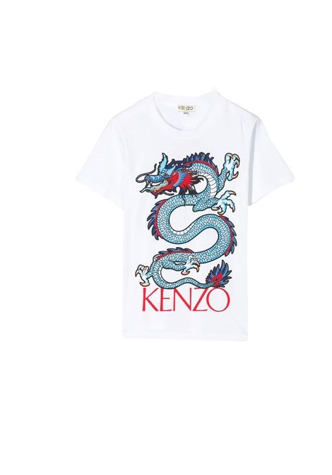 KENZO KIDS T-SHIRT WITH PRINT KENZO KIDS | T-shirt | KQ1054801