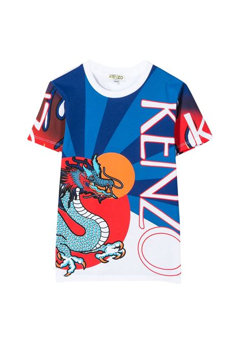 KENZO KIDS T-SHIRT CON STAMPA KENZO KIDS | T-shirt | KQ10568T01