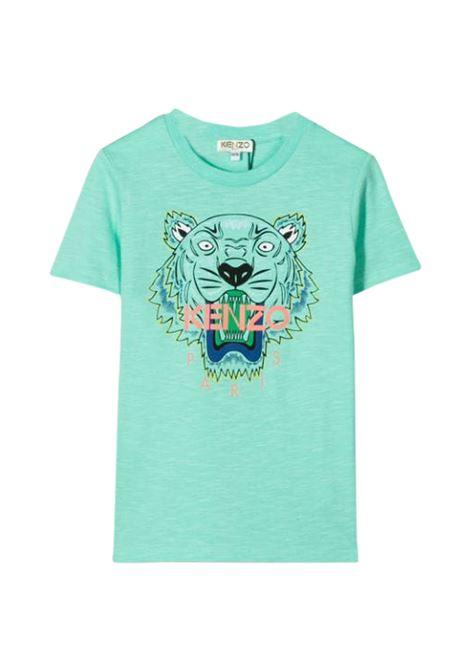 KENZO KIDS T-SHIRT WITH PRINT KENZO KIDS | T-shirt | KQ10658T55