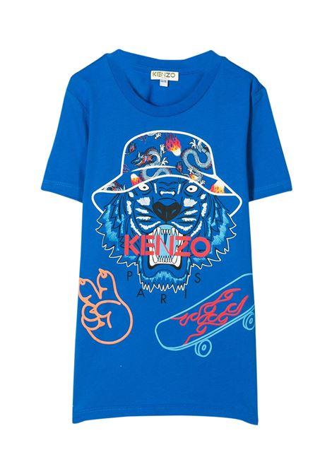 KENZO KIDS T-SHIRT CON STAMPA KENZO KIDS | T-shirt | KQ10668T44
