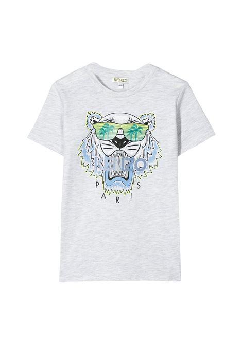 KENZO KIDS T-SHIRT WITH PRINT KENZO KIDS | T-shirt | KQ10678T23