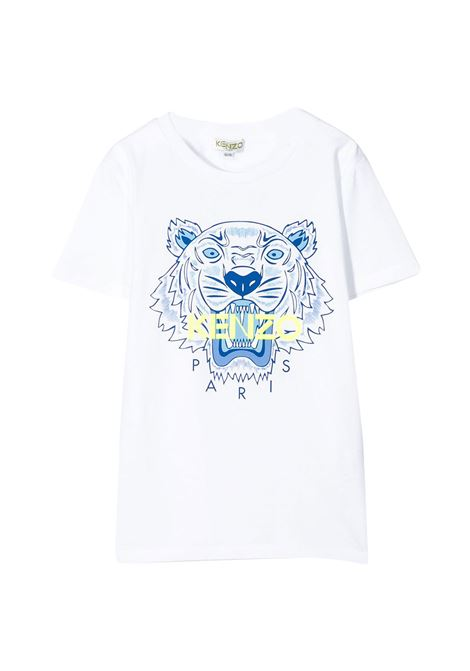 KENZO KIDS T-SHIRT WITH PRINT KENZO KIDS | T-shirt | KQ1071801