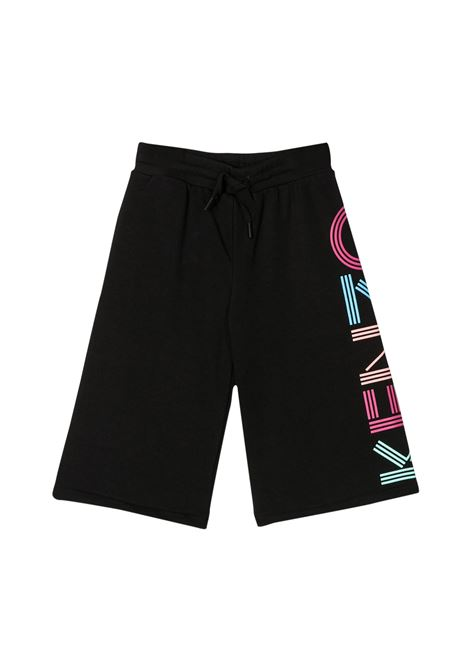 KENZO KIDS BRANDED LONG SHORTS KENZO KIDS | Trousers | KQ22048T02