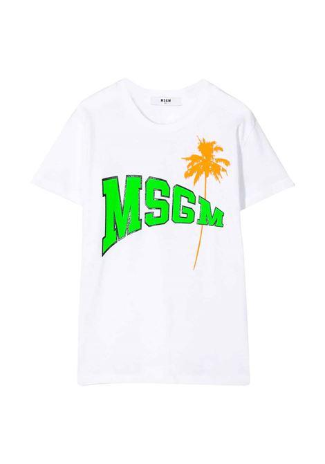 MSGM KIDS T-SHIRT  MSGM KIDS | T-shirt | 022086T001