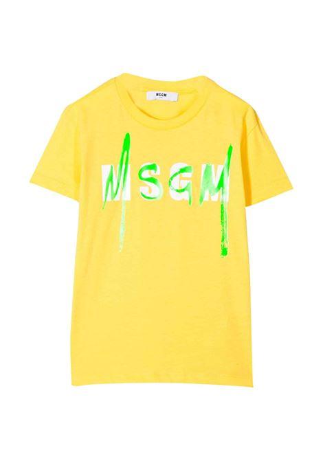 MSGM KIDS T-SHIRT  MSGM KIDS | T-shirt | 022088T020