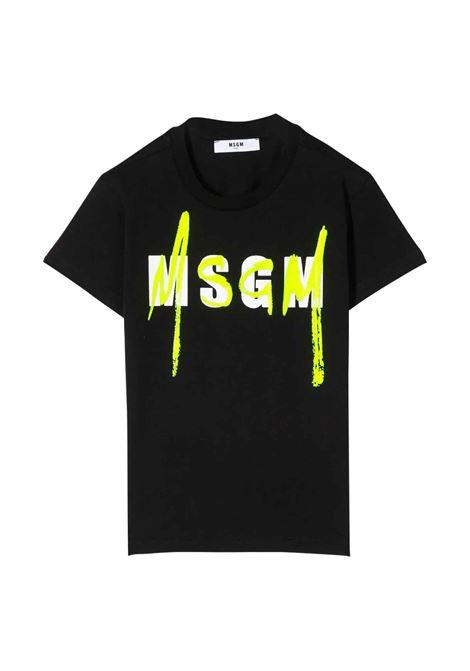 MSGM KIDS T-SHIRT MSGM KIDS   T-shirt   022088T110