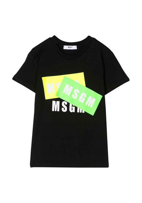 MSGM KIDS T-SHIRT WITH LOGO  MSGM KIDS | T-shirt | 022094110