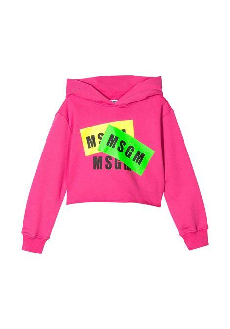 MSGM KIDS FELPA CON CAPPUCCIO MSGM KIDS | T-shirt | 022096T044