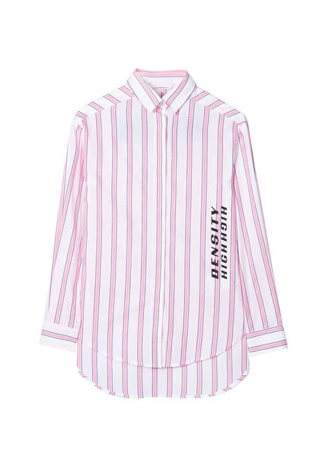 MSGM KIDS STRIPED DRESS WITH LOGO MSGM KIDS |  | 024158134