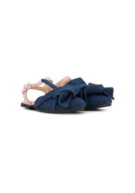 N°21 KIDS BALLERINAS  N°21 KIDS | Balletshoes | 54622DENIM STONE