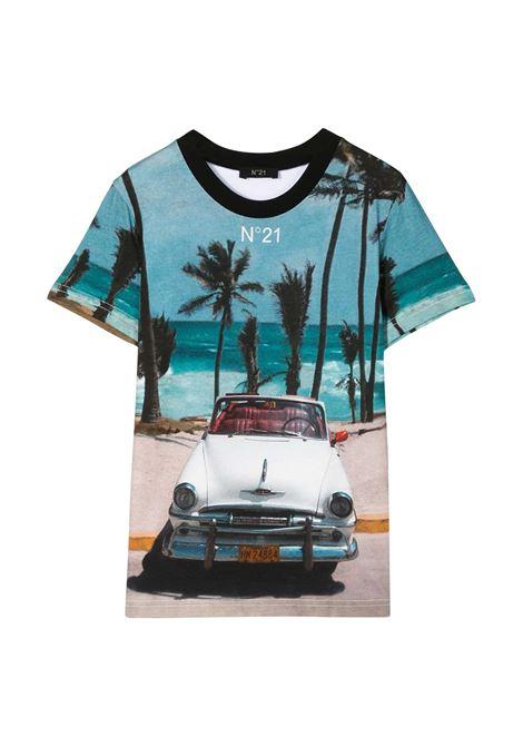 N°21 KIDS T-SHIRT CON STAMPA N°21 KIDS | T-shirt | N21496-N0080-N21T30UT0N100