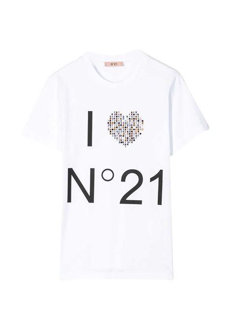 N°21 KIDS T-SHIRT CON STAMPA N°21 KIDS | T-shirt | N214AA-N0003-N21T44FT0N100