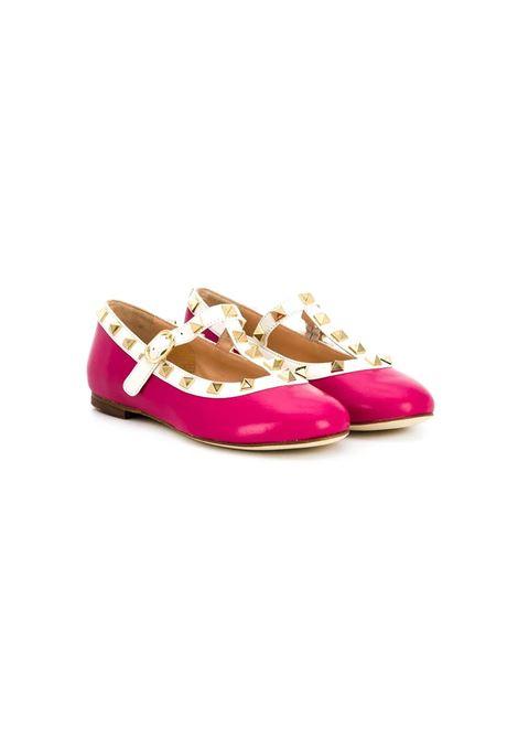 STUDDED BALLERINAS SHOES PROSPERINE | Balletshoes | T60104