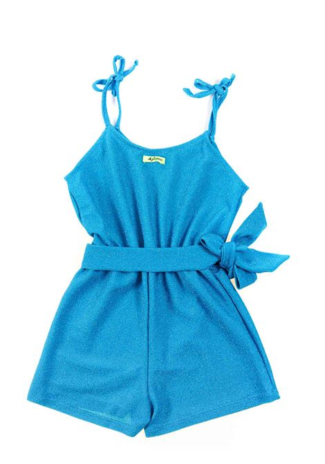 Lurex baby girl jumpsuit 4GIVENESS KIDS | FGCG0854051