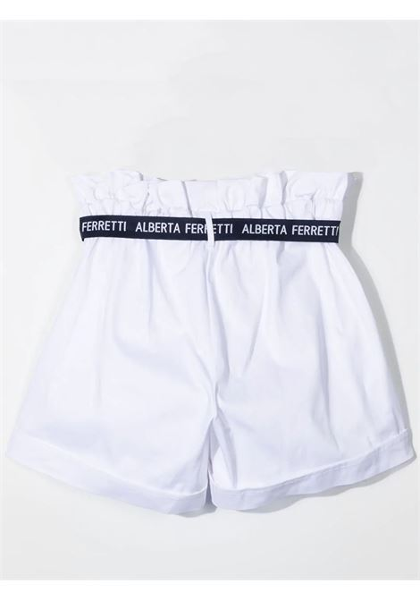 HIGH WAIST SHORTS ALBERTA FERRETTI JUNIOR | 027427002