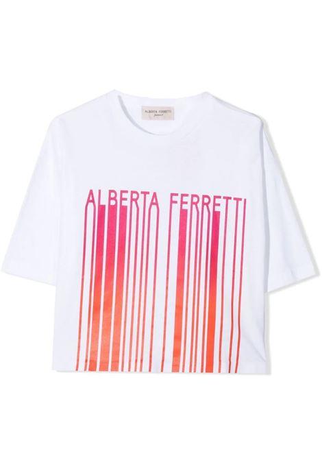 T-SHIRT CON STAMPA ALBERTA FERRETTI JUNIOR | T-shirt | 027437T002