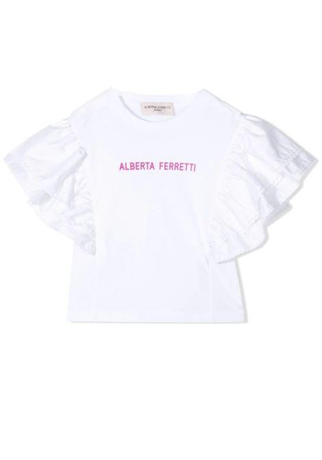 PRINT T-SHIRT ALBERTA FERRETTI JUNIOR | 027815T002
