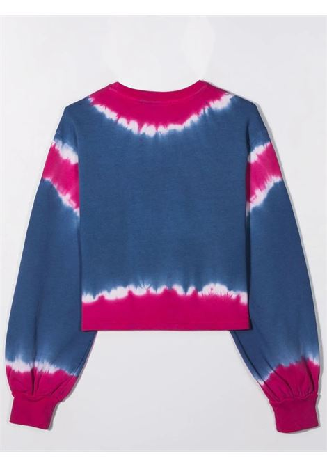 Little girl sweatshirt with tie-dye pattern ALBERTA FERRETTI JUNIOR | 027816044