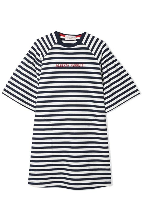 STRIPED T-SHIRT MODEL DRESS ALBERTA FERRETTI JUNIOR | Dress | 027842060