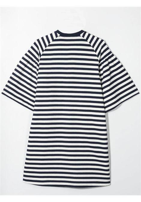 STRIPED T-SHIRT MODEL DRESS ALBERTA FERRETTI JUNIOR | 027842060