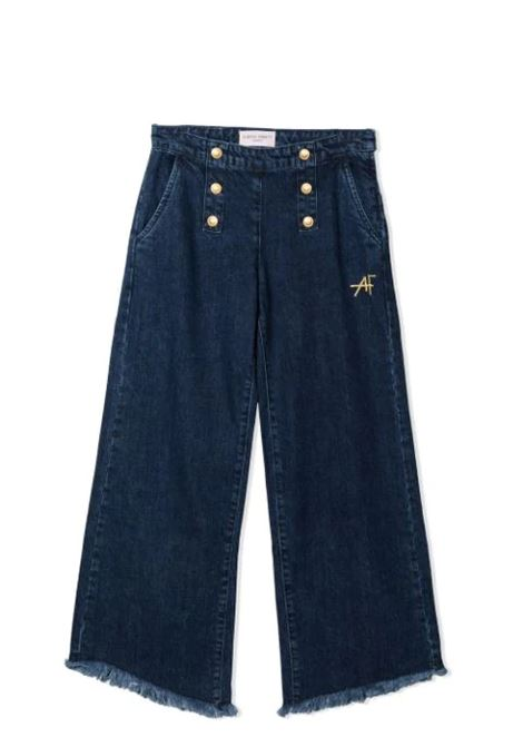 JEANS WITH BUTTONS ALBERTA FERRETTI JUNIOR | Jeans | 027845126