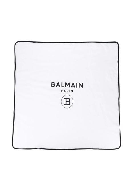 BLANKET WITH PRINT  BALMAIN KIDS | Blankets | 6M0870 MB370100NE