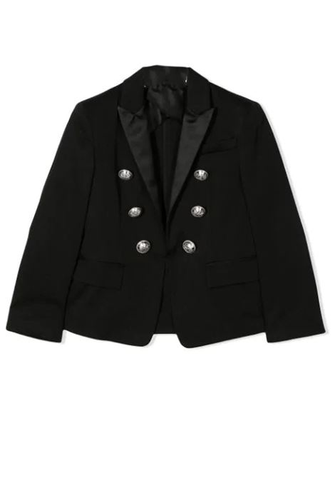 DOUBLE-BREASTED BLAZER BALMAIN KIDS | Jackets | 6M2564 MC080930