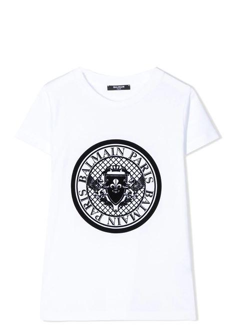 PRINT T-SHIRT  BALMAIN KIDS | T-shirt | 6M8091 MX030100