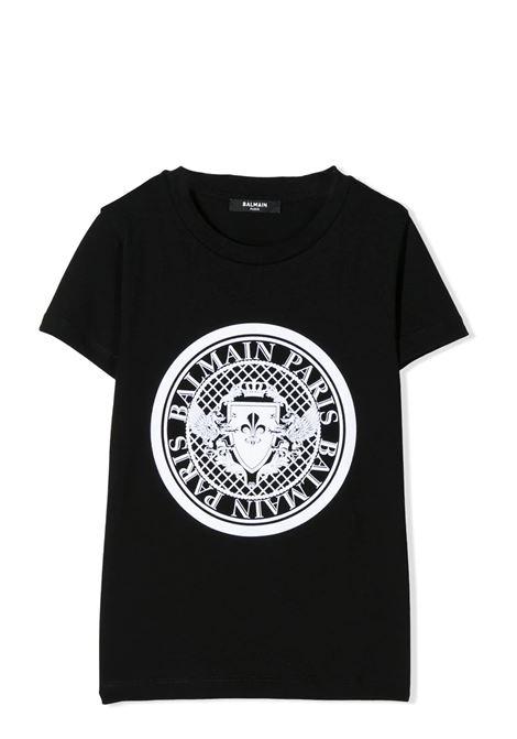 PRINT T-SHIRT  BALMAIN KIDS | T-shirt | 6M8091 MX030T930