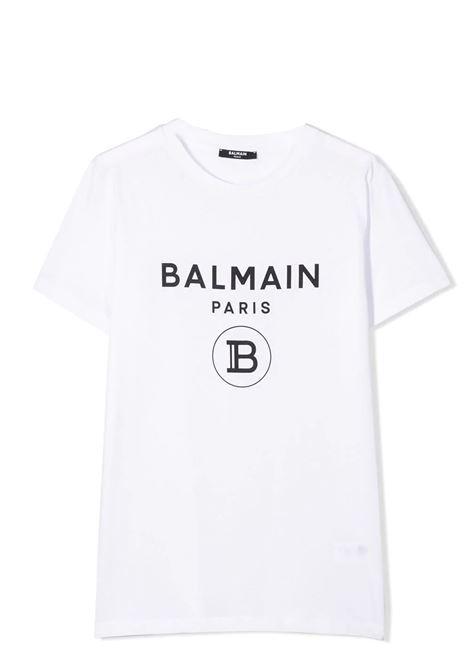 PRINT T-SHIRT BALMAIN KIDS | T-shirt | 6M8701 MX030100NE