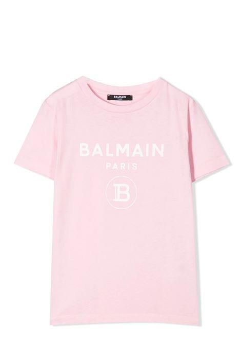 PRINT T-SHIRT BALMAIN KIDS | T-shirt | 6M8701 MX030506BC