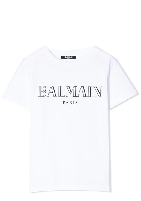 PRINT T-SHIRT BALMAIN KIDS | T-shirt | 6M8721 MX030100