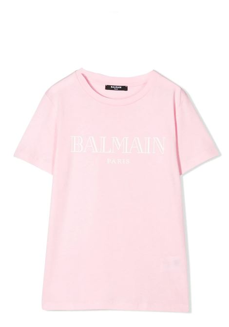 PRINT T-SHIRT BALMAIN KIDS | T-shirt | 6M8721 MX030506