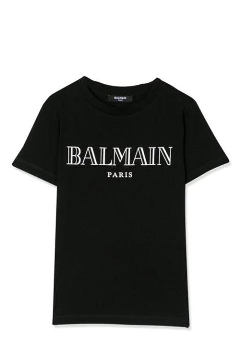 T-SHIRT CON STAMPA BALMAIN KIDS | T-shirt | 6M8721 MX030930