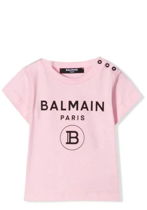 PRINT T-SHIRT BALMAIN KIDS | T-shirt | 6M8901 MX030506