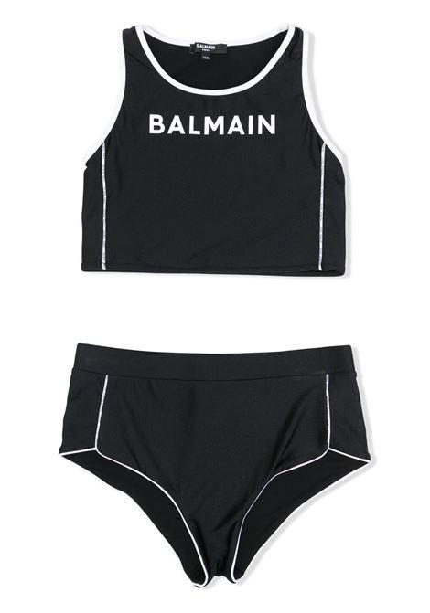 TWO PIECE SWIMSUIT BALMAIN KIDS | Swimsuits | 6O0039 OX410930
