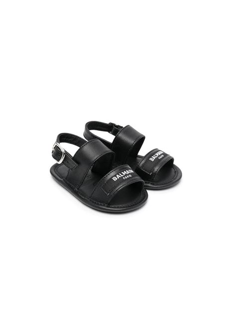SANDALS WITH STRAP BALMAIN KIDS | Sandals | 6O0A56 OX820930