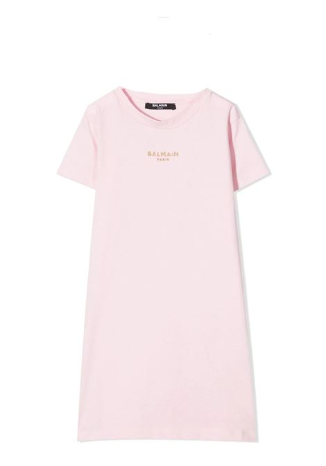 DRESS MODEL T-SHIRT BALMAIN KIDS | Dress | 6O1091 OB690T515