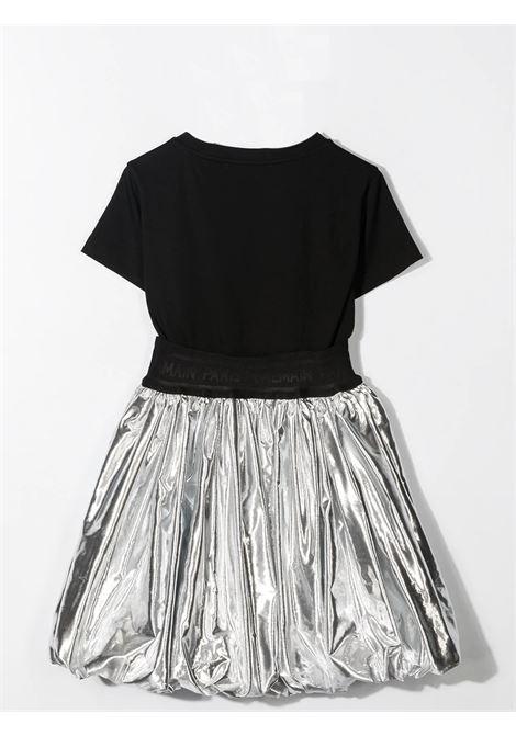 Color-block flared dress BALMAIN KIDS | 6O1191 OB690930