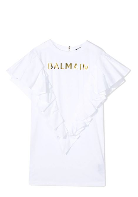DRESS MODEL T-SHIRT BALMAIN KIDS | Dress | 6O1211 OB690100