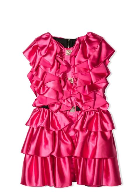 DRESSES WITH RUCHES BALMAIN KIDS | Dress | 6O1311 OD940T513