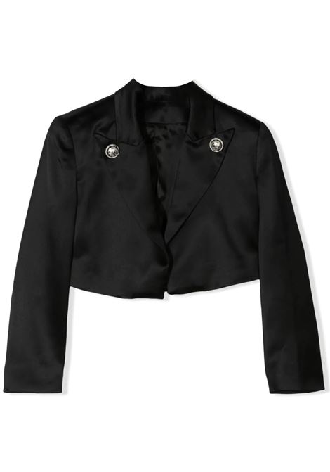 CROP JACKET WITH BUTTONS BALMAIN KIDS | Jackets | 6O2140 OD940T930
