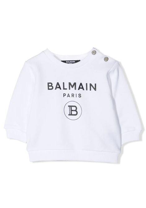 PRINT SWEATSHIRT BALMAIN KIDS | Sweatshirts | 6O4A10 OX370100NE